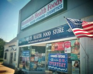 Monmouth Health Foods Storefront