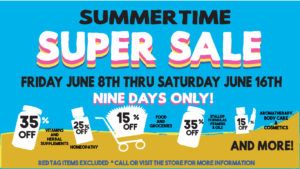 Super Sale Summertime 2018