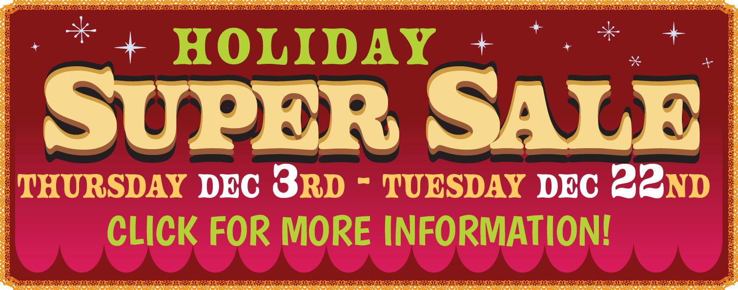 christmas sale web teaser ad - Home Page